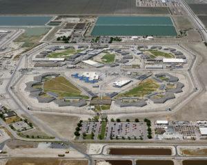 California Prison Exterior Flyover